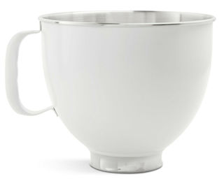 Picture of KitchenAid Attachment Stainless Steel Bowl White Accessories Range