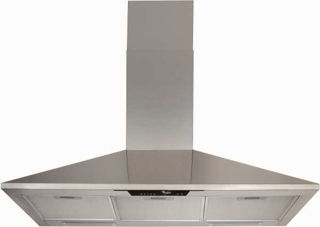 Picture of Whirlpool 90cm Chimney Cooker Hood 3 Speed Controls 2 Halogen Lamps