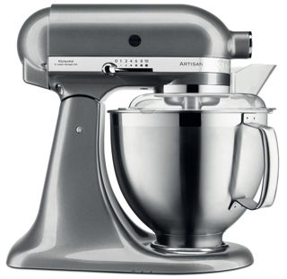 Picture of KitchenAid Artisan 4.8L Stand Mixer Medallion Silver