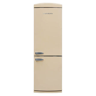 Picture of NordMende 605mm Freestanding Retro 1754mm Tall NoFrost Fridge Freezer Cream