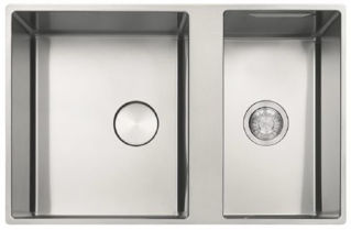 Picture of Franke Box Centre Bowl + Half Inset or Flushmounted Sink Reversible Stainless Steel