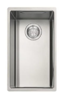 Picture of Franke Box Centre Single Inset Fushmounted or Undermounted Sink Reversible Stainless Steel