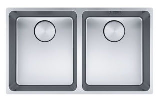 Picture of Franke Mythos Double Bowl Undermounted Sink Stainless Steel