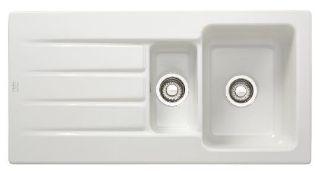 Picture of Franke Aracana 1.5 Bowl Inset Sink Reversible White Ceramic