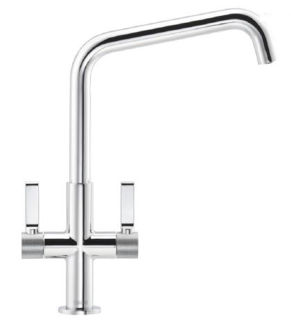 Picture of Franke Textura U-Spout Tap with Textured Shouder Detail Chrome