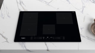 Picture of Whirlpool Built In 77cm Induction Hob with Flexiside Black