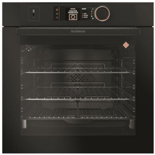 Picture of De Dietrich Built In 60cm Combination Steam Pyro Single Oven Absolute Black