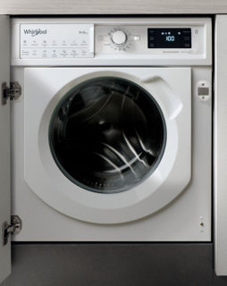 Picture of Whirlpool B/I 9/6kg 1400 Spin White Washer Dryer