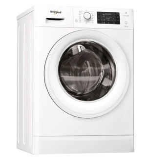 Picture of Whirlpool F/S 10/7kg Fresh Care 1600 Spin White Washer Dryer