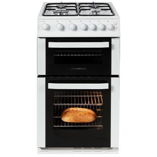 Picture of NordMende F/S 50cm Twin Cavity LPG Gas Cooker White