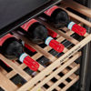 Picture of NordMende 60cm Buit In Wine Cooler 46 Bottle Dual Zone Slim Inox Frame