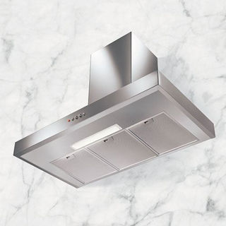 Picture of NordMende 90cm Box Design Chimney Hood Stainless Steel
