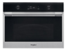 Picture of Whirlpool W Collection Combi Microwave Stainless Steel and Black Glass