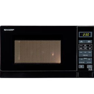 Picture of Sharp 25L Freestanding Solo Microwave Black