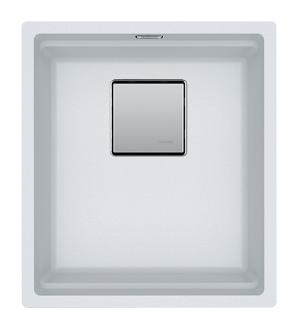 Picture of Franke Kubus Single Bowl Undermounted Sink Fragranite Polar White 37cm