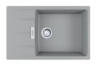 Picture of Franke Centro Single Bowl Inset Sink Reversible Fragranite Stone Grey