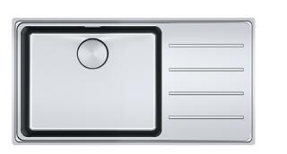 Picture of Franke Mythos Plus Single Bowl Slim-Top Sink Stainless Steel RHD