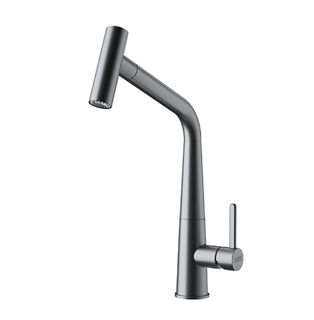 Picture of Franke Icon Pull-Out Double Jet Shower Tap Decor Steel