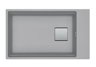 Picture of Franke Kubus Single Bowl Undermounted Sink Fragranite Stone Grey 62cm