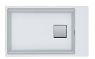 Picture of Franke Kubus Single Bowl Undermounted Sink Fragranite Polar White 62cm