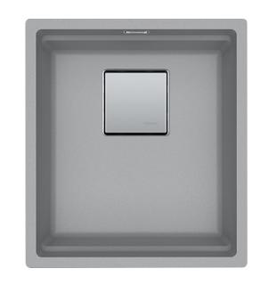 Picture of Franke Kubus Single Bowl Undermounted Sink Fragranite Stone Grey 37cm