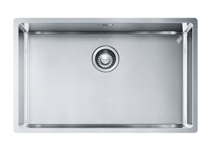 Picture of Franke Box Single Bowl Undermounted or Inset Sink Stainless Steel 68cm