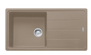 Picture of Franke Basis Single Bowl Inset Sink Reversible Fragranite Oyster