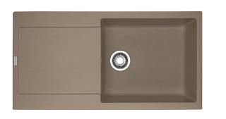Picture of Franke Maris Single Bowl Inset Sink Reversible Fragranite Oyster