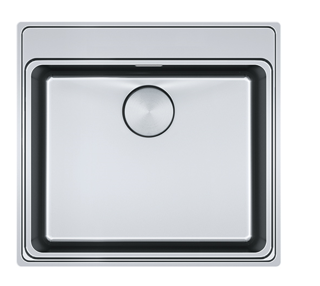Picture of Franke Mythos Plus Single Bowl Slim-Top Sink with Tap Ledge Stainless Steel