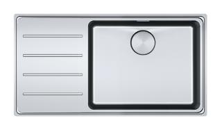 Picture of Franke Mythos Plus Single Bowl Slim-Top Sink Stainless Steel LHD
