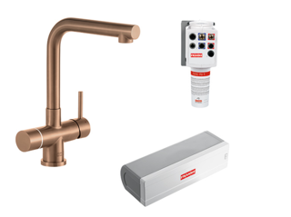 Picture of Franke Minerva Mondial Electronic 4-in-1 Instant Boiling Water Tap Copper