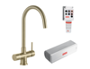 Picture of Franke Minerva Helix Electronic 4-in-1 Instant Boiling Water Tap Champagne Gold