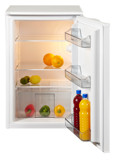 Picture of NordMende 55cm Freestanding Under Counter Fridge White