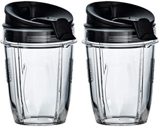 Picture of Ninja Twin Pack 300ml - 2 x Cups 2 x Lids + 2 x Shakers