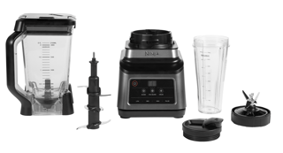 Picture of Ninja 2.1L 2-In-1 Multi-Serve Blender with Auto-iQ Black and Silver