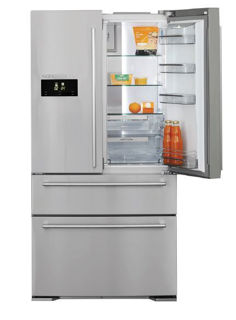 Picture of NordMende F/S 90cm French Door Fridge Freezer Frost Free A+ Energy Rating Stainless Steel