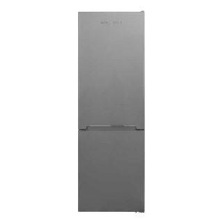 Picture of NordMende 60cm Freestanding 186cm Low Frost Fridge Freezer Silver