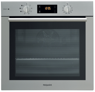 Picture of Hotpoint Built-in Series 4 Gentle Steam Single Oven Stainless Steel