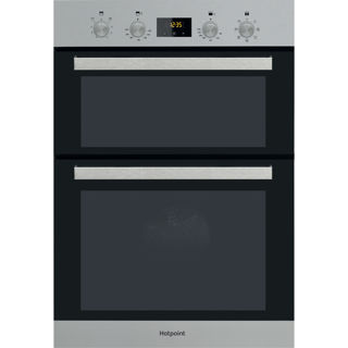 Picture of Hotpoint Built-in Multifunction Double Oven Stainless Steel