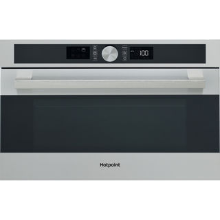 Picture of Hotpoint Built-in Series 5 Microwave + Grill with Crisp Plate Stainless Steel
