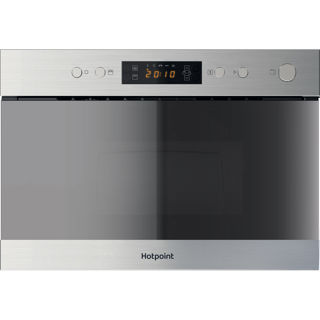 Picture of Hotpoint Built-in Series 3 Microwave + Grill with Crisp Plate Stainless Steel