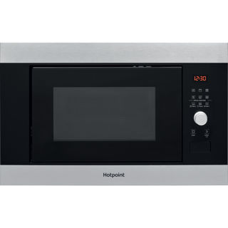 Picture of Hotpoint Built-in Series 2 38cm Microwave + Grill Stainless Steel