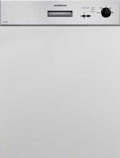 Picture of NordMende Semi Integrated 60cm Dishwasher Stainless Steel