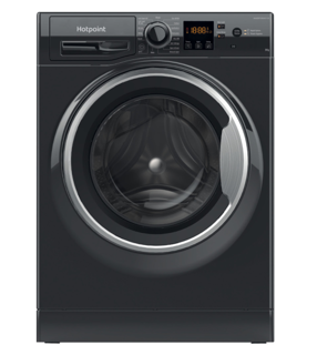 Picture of Hotpoint Freestanding 8Kg 1400 Spin Washing Machine Black