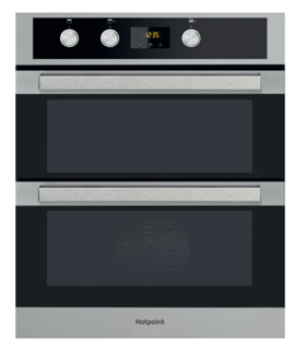Picture of Hotpoint Built Under Multifunction Double Oven Stainless Steel