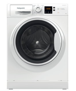 Picture of Hotpoint Freestanding 9Kg 1351 Spin Washing Machine White