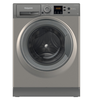 Picture of Hotpoint Freestanding 8Kg 1400 Spin Washing Machine Graphite