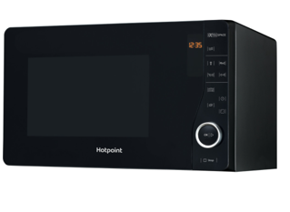 Picture of Hotpoint Freestanding Flatbed Microwave Black