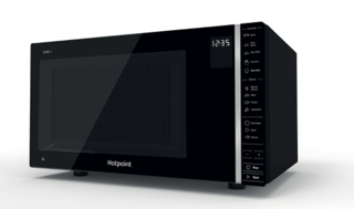 Picture of Hotpoint 30L Freestanding 700W Microwave Black