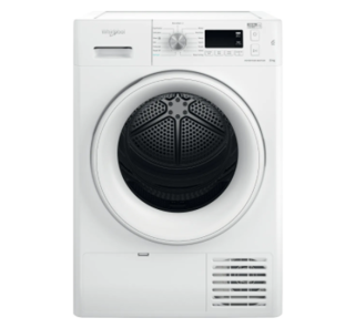 Picture of Whirlpool Freestanding 8kg FreshCare+ Heat Pump Dryer 6th Sense White A++ Energy